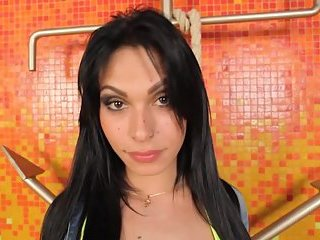 Latin girl with cock needs a good fuck