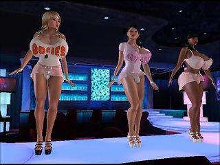 Transexual Strip Club animation