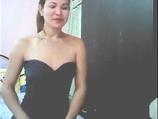Real Filipina Hermaphrodite Skype Show #8