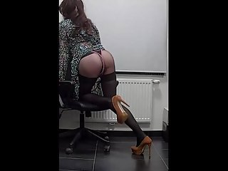My lovely sexy secretaries body-3)