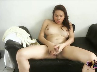 Shemale Vitress Tamayo wet and ready