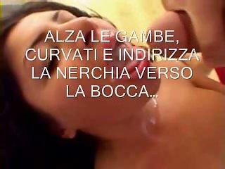 Sissy Cum Swallow Trainer in Italian