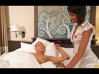 Nurse Dada knows how to take care of sick Ramon
