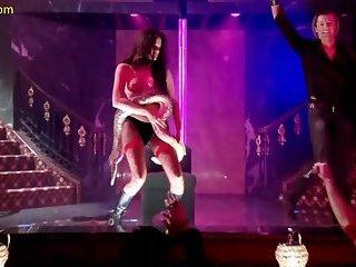 Maria Gara Striptease In Sin City Diaries TV Series