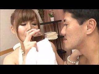 Busty japanese maid
