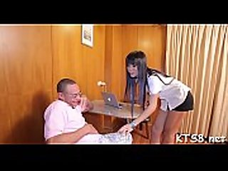 Doxy with dong enjoys anal fuck