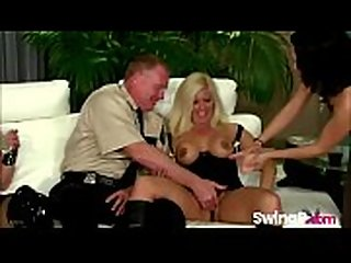 Horny Mature Couple Swinging On Reality TV